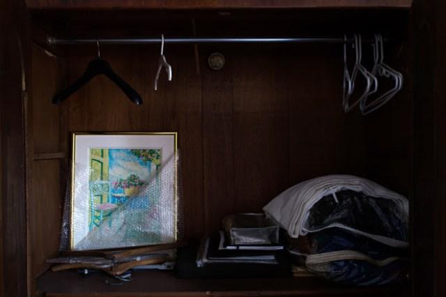 Los caraqueños dejan sus casas vacías (Foto The Wall Street Journal)