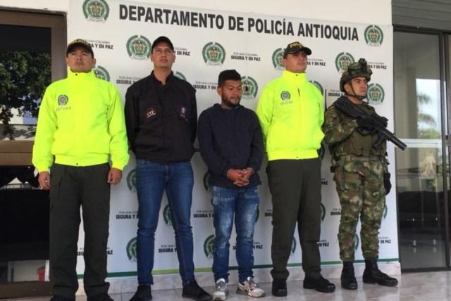 Jorge Enrique Salazar Jiménez será presentado ante un juez de garantías en las próximas horas. Cortesía Fiscalía