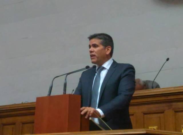 Rafael Guzmán, diputado y presidente de la Comisión de Finanzas / Foto @AsambleaVE