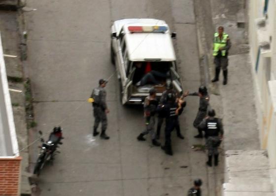 Foto: Operativo policial en San Martín tras asesinato de funcionaria del Bae / Cortesía