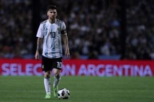 Niños palestinos piden a Messi que no juegue en el partido amistoso entre Argentina e Israel