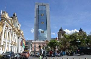 Evo Morales estrena nuevo palacio en Bolivia, un símbolo de su poder