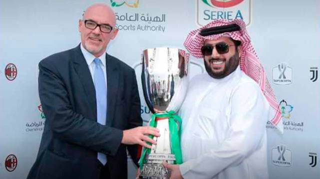 La Supercopa de Italia ya está en Arabia Saudita | Foto: Twitter @tjcope