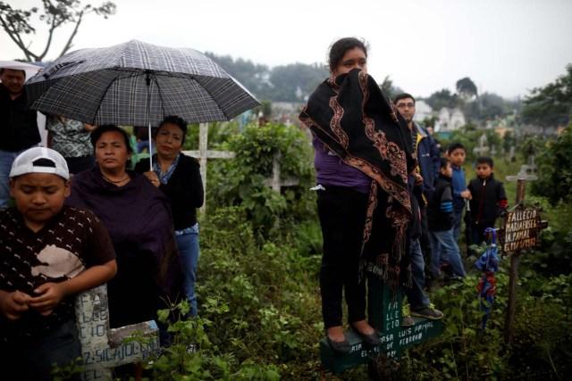 la Coordinadora Nacional de Reducción de Desastres (CONRED), en Alotenango, Guatemala, el 5 de junio de 2018. Según el director ejecutivo de CONRED, Sergio Cabanas, Galindo murió mientras intentaba rescatar a personas durante el Erupción del volcán de Fuego. REUTERS / Jose Cabezas