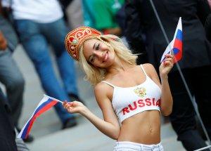 Sí, esta es la primera rusa sexy que nos llega desde el Mundial 2018 (FOTOS)