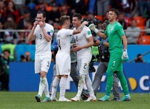 En FOTOS: La dramática victoria de Uruguay contra Egipto en #Rusia2018
