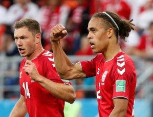 En FOTOS: El partidazo en el que Dinamarca se impuso a Perú en el Mundial #Rusia 2018