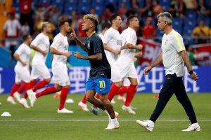 Neymar es titular con Brasil ante Suiza en el debut en el Mundial