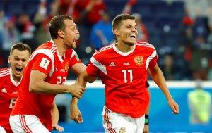 En FOTOS: Rusia dio la campanada al despachar a Egipto en el Mundial #Rusia2018