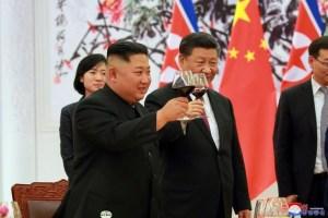 Corea del Norte y China discuten un nuevo futuro y desnuclearización