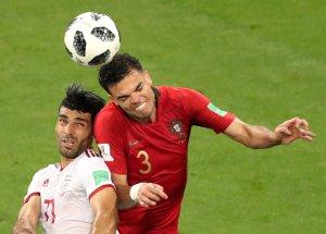 ¡De Chiripa! Portugal sufrió para derrotar a una incómoda Irán (FOTOS)