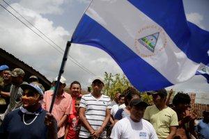 Nicaragüenses celebran la resolución de la OEA sobre elecciones anticipadas