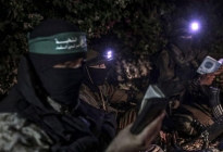 Israel bombardea puestos militares de Hamás en Gaza y lanzan cinco cohetes