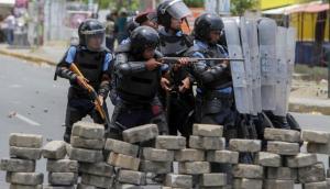 ¡Desgarrador! Policía de Nicaragua mata de un disparo a un  niño de 14 meses