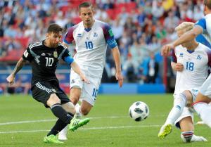 En FOTOS: Islandia le aguó la fiesta a Messi en el Mundial #Rusia2018