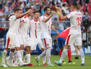 En FOTOS: La victoria apretada de Serbia sobre Costa Rica en el Mundial #Rusia2018
