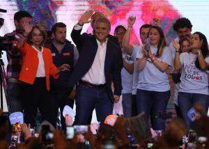 Iván Duque dice que gobernará para unir a Colombia