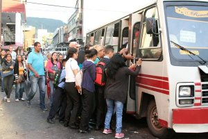 ¡Aprieten! Estas son las nuevas tarifas del transporte público publicadas en Gaceta Oficial