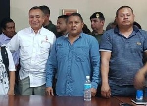 Justo Noguera pidió perdón al pueblo Pemón y su alcalde