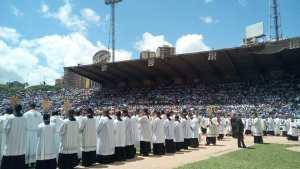 Feligreses pidieron la beatificación de Dr. José Gregorio Hernández (video)