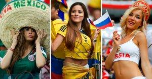 """#Rusia2018: En la Copa Mundial de Fútbol también hay """"competencia"""" de boobies al aire (Competidoras)"""