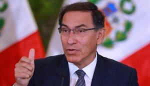 El presidente Martín Vizcarra espera tener una estrecha relación con Duque