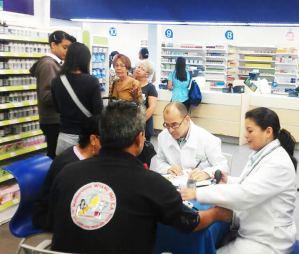 Farmatodo atendió a más 22 mil personas en jornadas para control de hipertensión arterial