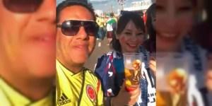 Colombianos recibirían sanciones por burlarse de fanáticas japonesas y camuflar licor en Rusia