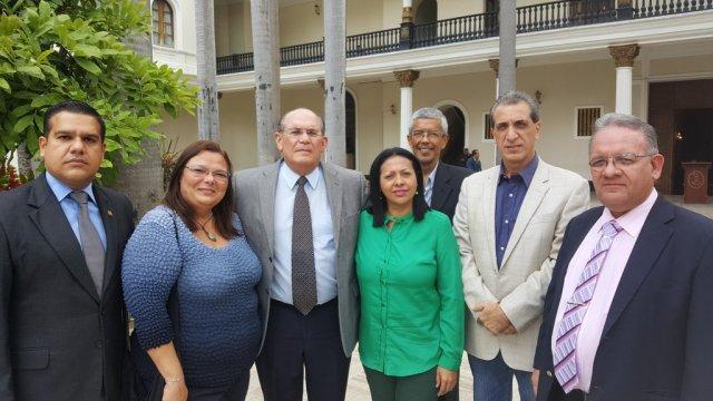 Iintegrantes de la fracción parlamentaria 16 de Julio