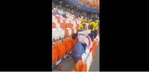 ¡Memorable! Hinchas de Japón recogieron los desperdicios en las gradas tras la victoria (VIDEO)