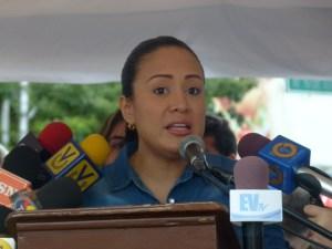 Laidy Gómez plantea a Pdvsa comercialización binacional de combustible para mitigar crisis del Táchira