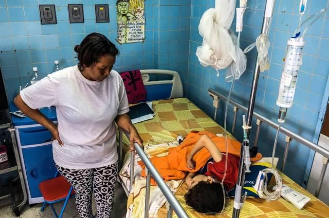 En lo que va del año se duplicaron los casos de sarampión respecto de todo 2017; regreso de la poliomielitis (foto AFP)