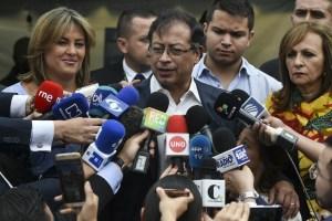 Así reaccionó Gustavo Petro tras conocer los resultados electorales