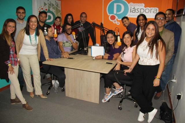 """La plataforma comunicacional """"Somos Diáspora"""" conectará a todos los emigrantes venezolanos con su origen (Foto: Nota de prensa)"""