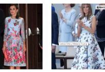 Letizia y Melania: Duelo de estilo en la Casa Blanca (Fotos)
