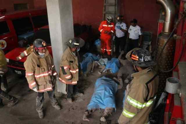 Foto: CORED, bomberos voluntarios