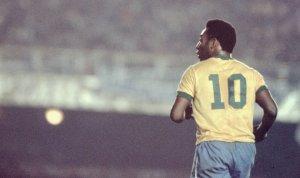 """A pocos días de Rusia 2018: ¿Sabías que Pelé usó el dorsal """"10"""" por casualidad?"""