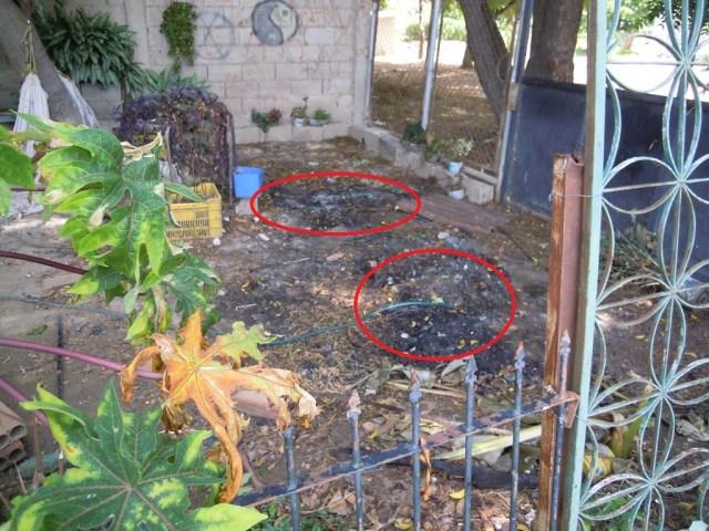 Sitio donde quemaron a John Fraide Vitriago Caro | (Fotos: Jacinto Oliveros)