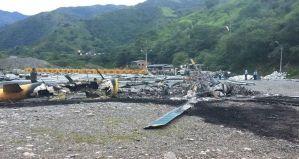 Disidentes de Farc queman en Colombia aeronave de ayuda a emergencia en represa
