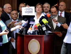 Diputada Sánchez Eulate: El quiebre económico del sector privado es inminente en Venezuela