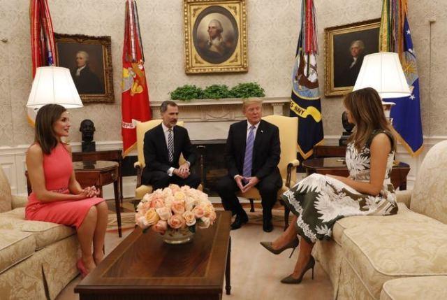 Resultado de imagen para El misterio del Rey de España y Venezuela en la Casa Blanca