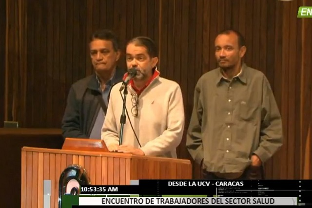Francisco Valencia, presidente de Codevida // Foto captura de tv
