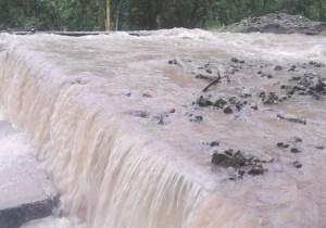 ¡Colapso! Varios sectores de Táchira sin agua e inundados