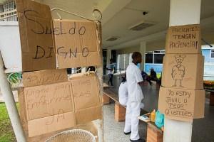 Crece paralización del sector público en Guayana ante política salarial hambreadora de Maduro
