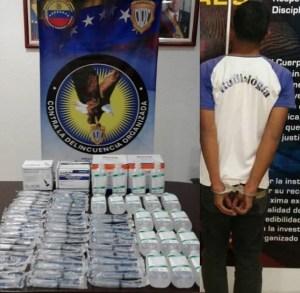 Capturan a sujeto que robó insumos médicos de un centro clínico en Caracas