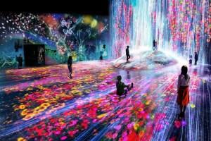 Tokio abre el primer museo de arte digital a escala real (Fotos)