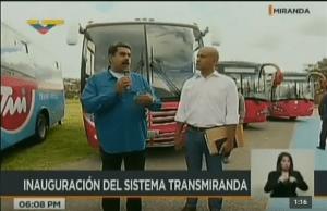 """¡Mega cinismo! Maduro dice que la manera de preservar el transporte es con """"buenos mecánicos"""" (VIDEO)"""