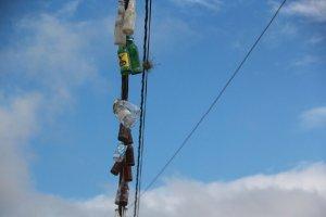 Capturan a delincuentes en Aragua dedicados a cortar cables eléctricos para revenderlos en el mercado negro
