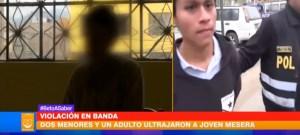 Una venezolana fue violada por tres sujetos en Perú (Video)