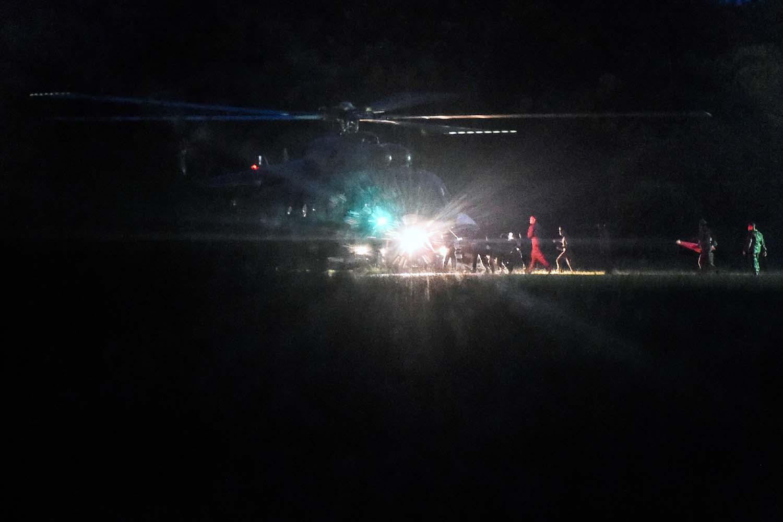 Cuatro niños más han sido rescatados de la cueva de Tailandia